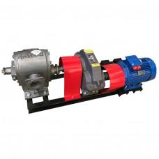 Агрегат насосный битумный ДС-215 (насос ДЗ-212 с редукционным краном, редуктор, двигатель 11 кВт , 250-500 л/мин)