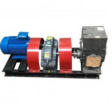 Агрегат насосный битумный ДС-215Э с электроподогревом (насос ДЗ-212, редуктор, двигатель 11 кВт , 500 л/мин)