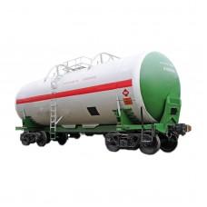 Железнодорожная цистерна для перевозки СУГ объёмом 54 м3