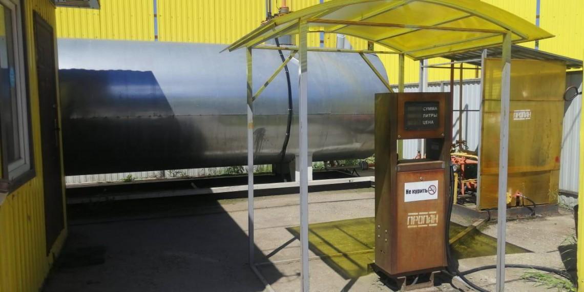 Продается модульная АГЗС б/у 2️0м3 по цене 1130000 руб